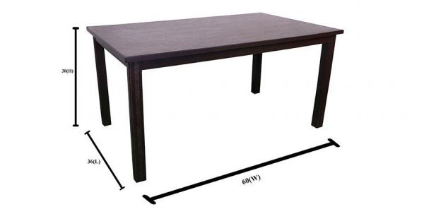 Antioch Solid Wooden Dining Table 6 Seater (4 chair + 1 Bench)