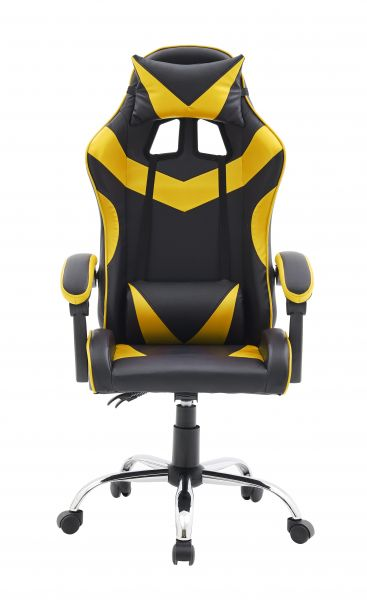 Gaming Ergonomic Chair in Yellow Colour